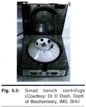 Small Bench Centrifuge